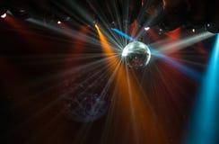 Luce della palla della discoteca Fotografia Stock Libera da Diritti