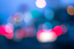 luce della sfuocatura fotografia stock libera da diritti