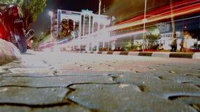 Luce della strada di notte Fotografia Stock Libera da Diritti