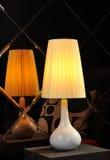 Luce della tavola della lampada di scrittorio Fotografie Stock Libere da Diritti