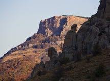 Luce delle rocce di mattina Fotografie Stock Libere da Diritti