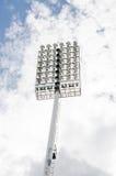 Luce dello stadio Fotografia Stock