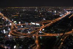 Luce di Bangkok Fotografia Stock