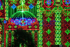 Luce di Bangkok di felicità Immagine Stock Libera da Diritti