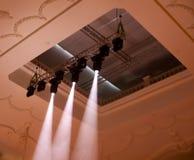 Luce di concerto Immagine Stock