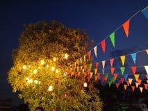 Luce di festival fotografia stock libera da diritti