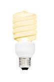 Luce di lampadina isolata Fotografia Stock Libera da Diritti