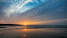 Luce di mattina di alba Fotografia Stock Libera da Diritti
