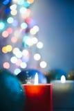 Luce di Natale Fotografia Stock Libera da Diritti