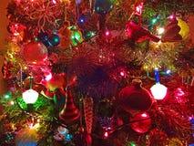 Luce di Natale Fotografie Stock Libere da Diritti