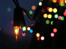 Luce di Natale Immagine Stock Libera da Diritti
