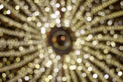 Luce di Natale sfuocato Fotografia Stock