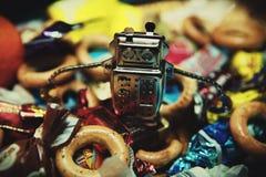 Luce di qualità dello studio dello sqdriverl del robot Immagini Stock Libere da Diritti
