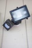 Luce di sicurezza del sensore di moto Fotografie Stock