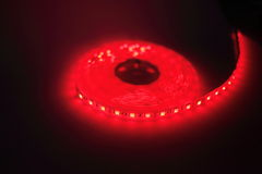 Luce di striscia principale rossa Fotografia Stock