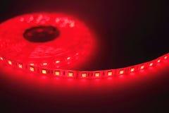 Luce di striscia principale rossa Immagine Stock Libera da Diritti