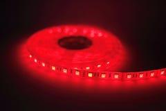 Luce di striscia principale rossa Immagine Stock