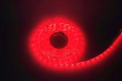 Luce di striscia principale rossa Immagini Stock Libere da Diritti