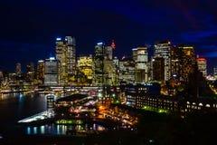 Luce di Sydney fotografie stock