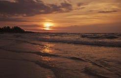 Luce di tramonto Fotografia Stock Libera da Diritti