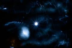 Luce di una stella distante Immagini Stock