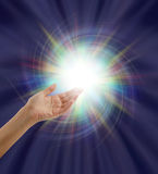 Luce divina di Spectacular Fotografia Stock