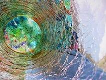 Luce e ballo di colori immagini stock