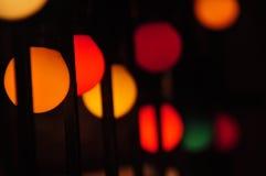 Luce e diwali Immagini Stock Libere da Diritti