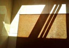 Luce ed ombra dell'interno Fotografia Stock