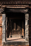 Luce ed ombra di Bhaktapur Immagine Stock Libera da Diritti