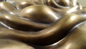 Luce ed ombra su struttura della scultura di arte Immagine Stock