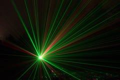 Luce laser Fotografie Stock Libere da Diritti