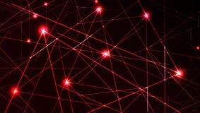 Luce laser di vettore Immagini Stock