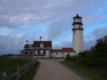 Luce mA di Cape Cod Fotografia Stock Libera da Diritti