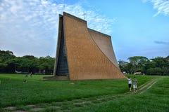 Luce Memorial Chapel al crepuscolo Fotografie Stock