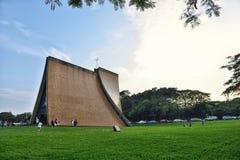 Luce Memorial Chapel au crépuscule Images libres de droits