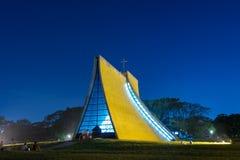 Luce Memorial Chapel na universidade de Tunghai fotos de stock