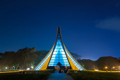 Luce Memorial Chapel in Tunghai University Royalty Free Stock Photography