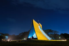 Luce Memorial Chapel in Tunghai University Royalty Free Stock Images