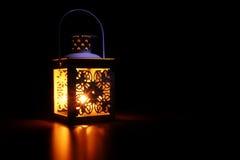 Luce morbida della lanterna fotografia stock