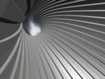 Luce nel tunnel Fotografie Stock Libere da Diritti