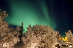 Luce nordica fotografia stock