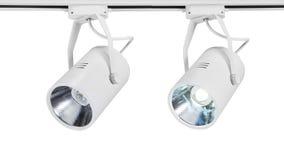 Luce principale del punto o luce della pista del LED Fotografia Stock Libera da Diritti