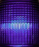 Luce riflettente complessa ultravioletta della lente fotografia stock