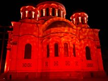 Luce rossa fotografia stock libera da diritti