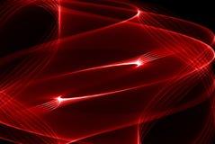 Luce rossa Fotografia Stock