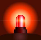 Luce rossa Fotografie Stock Libere da Diritti