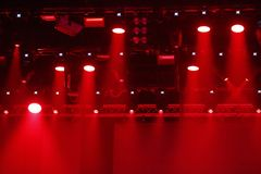 Luce rossa di scena Fotografia Stock Libera da Diritti