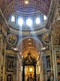 Luce in San Pietro Fotografia Stock Libera da Diritti