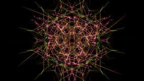 Luce simmetrica astratta illustrazione di stock